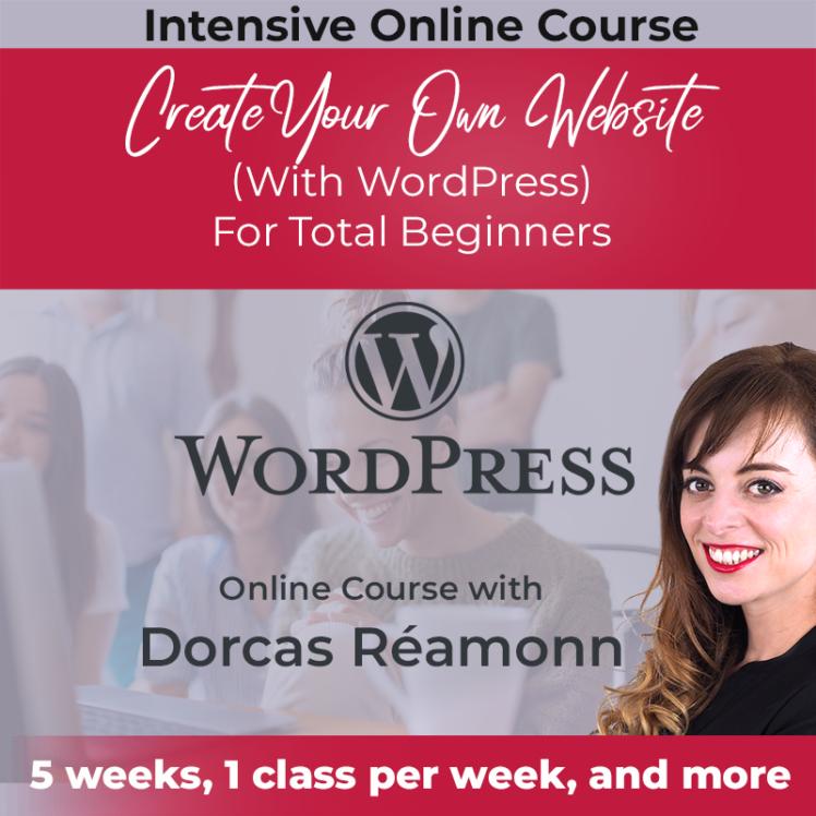 dorcas réamonn online teaching